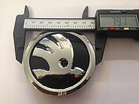 Эмблема Skoda Octavia A5, Roomster, Superb 5J0853621 / 80мм