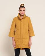 Куртка удлиненная желтая