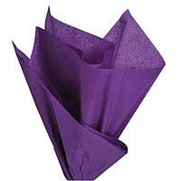 Тишью папиросная бумага фиолетовая