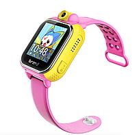 Детские умные часы SQ200 (TD-07) Pink (Звонки, возможность делать и воспринимать звонки, Телефонная книга: 15