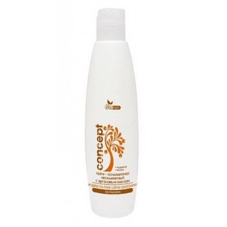 Крем – кондиционер для волос несмываемый c Аргановым маслом Concept Argana no rinse creme conditioner 250 мл