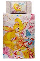 Постельное белье подростковое TAC Disney 160х220 -  Winx Harmonix Stella