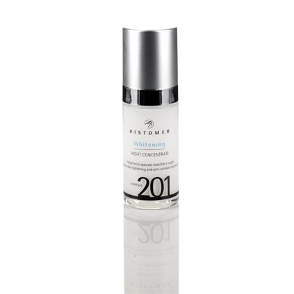 FORMULA 201 Whitening night Ночная сыворотка для выравнивания тона кожи, 30 мл. Histomer