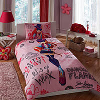 Постельное белье подростковое TAC Disney 160х220 -  Winx Holiday Bloom