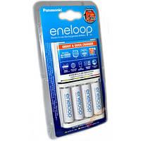 Зарядное устройство PANASONIC Smart-Quick charger BQ-CC55 + 4xR6 / AA Eneloop Pro 2500 mAh (BQ-CC55E)
