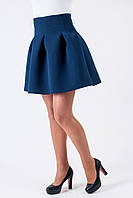 """Синяя юбка """"Колокольчик"""""""