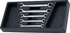 Набор ключей разрезных Hans TT-8 (5 предметов)