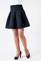 """Красивая черная юбка """"Колокольчик"""""""