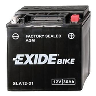 Акумулятор залитий і заряджений AGM 30Ah 430A EXIDE SLA12-31 = AGM12-31