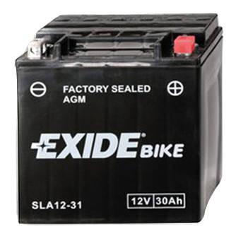 Акумулятор залитий і заряджений AGM 30Ah 430A EXIDE SLA12-31 = AGM12-31, фото 2