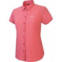 Рубашка женская Salewa Puez Mini Check Dry W S/S SRT