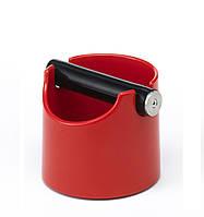 Нок-бокс Joe Frex  Basic Red пластиковый для кофейного жмыха (0.8 л)