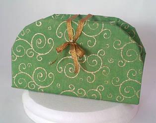Сумочка декоративная зеленая