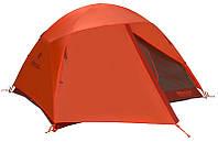 Двухслойная трехместная палатка Marmot Catalyst 3P rusted orange/cinder, MRT 27920.6653, красный, 165x119x224