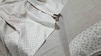 Постельное белье Дуэт серый, лен , фото 1