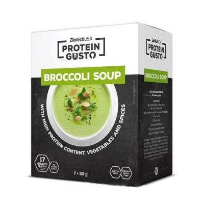 Протеиновый суп BioTech - Protein Gusto (30 грамм) сырный broccoli/брокколи