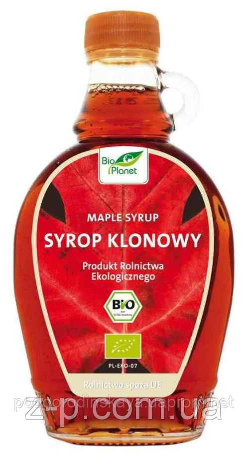 Кленовый сироп Bio Planet, 250 мл. Польша