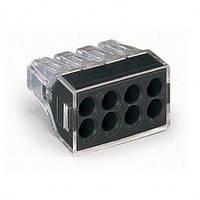 Експрес-клема для распред. коробок на 8 провідників, 1-2,5мм2