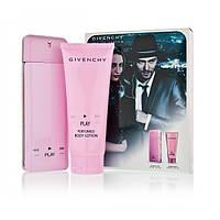 Набор Givenchy play pink eau de parfum (Парфюм 75 мл + парфюмированый крем для тела)