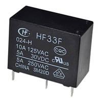 Реле HF-33F 1C 24V