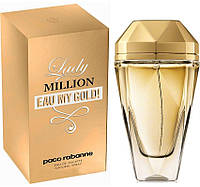 Женская туалетная вода Paco Rabanne Lady Million Eau My Gold! (Пако Рабан Леди Миллион О Май Голд)