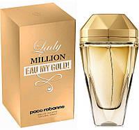 Женская туалетная вода Paco Rabanne Lady Million Eau My Gold! (Пако Рабан Леди Миллион О Май Голд)