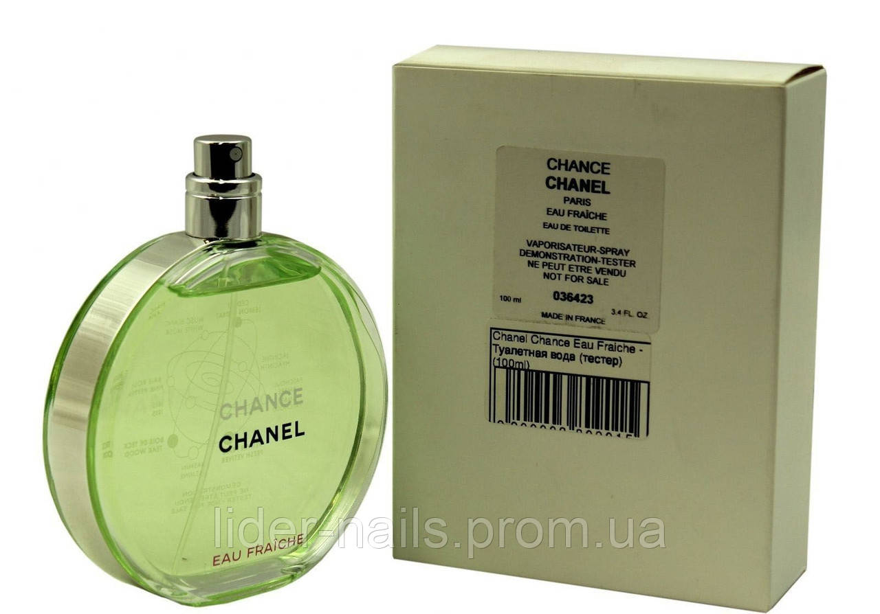 b7b620899758 Женский парфюм тестер Chanel Chance Eau Fraiche - Материалы для наращивания  и дизайна ногтей,все