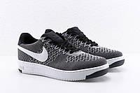 Женские и подростковые кроссовки Nike air force Flyknit. Форсы найк флайкнит