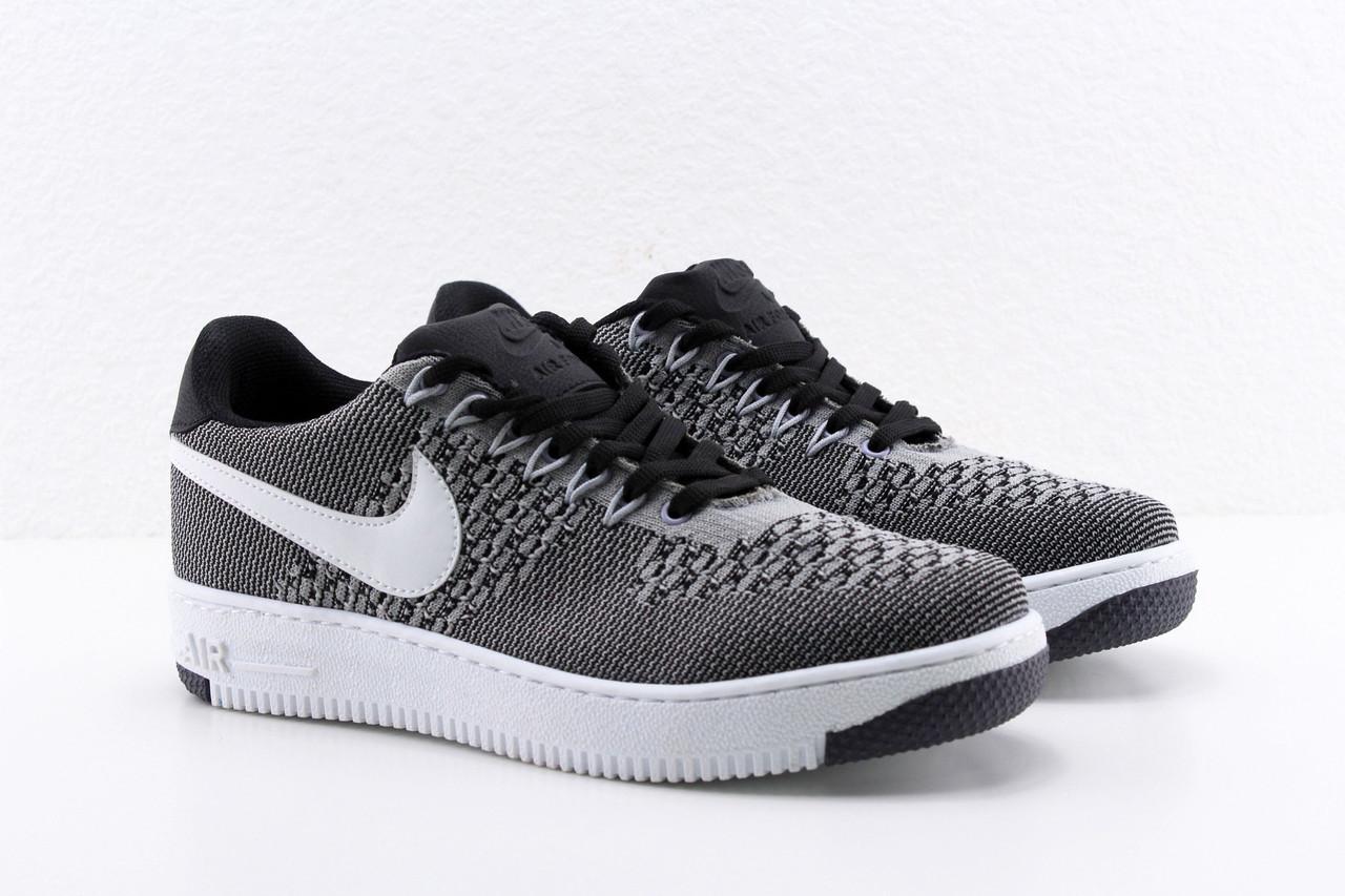 0c208996 Женские и подростковые кроссовки Nike air force Flyknit. Форсы найк флайкнит