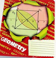 Тетрадь 48 л Предметка Геометрия (клетка)