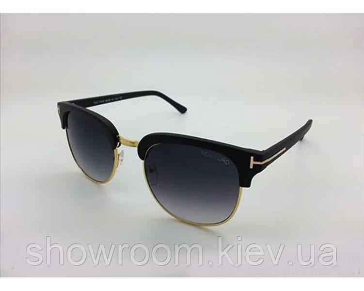 Солнцезащитные очки в стиле Tom Ford (52) black