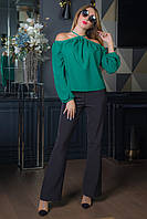 Блузка Талиса зеленый