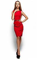 Жіноче ділове червоне плаття Ember