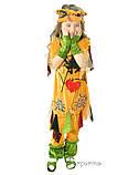 Детский костюм для девочки Баба-Яга, фото 2