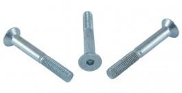 Винт метрический с потайной головкой и внутренним шестигранником, DIN 7991 (5I1)