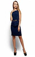 Жіноче ділове темно-синє плаття Ember (S)