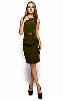 Жіноче ділове оливкове плаття Ember