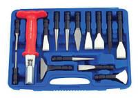 Набор ударно-режущего инструмента, 15 предметов, Force 915U3
