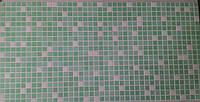 """Панелі ПВХ """"Мікс зелений"""" 0,3мм (955*488 мм)"""