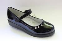 Детские школьные туфли на платформе ТМ B&G 32,34р.