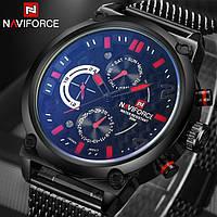 Мужские часы Naviforce Brutto Red (№ 9068) , Гарантия 6 мес./ Чоловічий наручний годинник