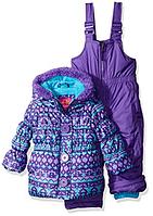 Зимний раздельный фиолетовый комбинезон Pink Platinum(США) для девочки 3-4 года