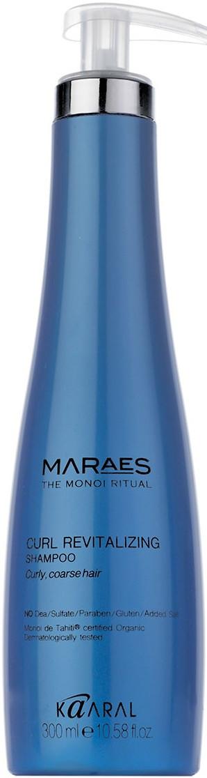 Восстанавливающий шампунь для кудрявых и вьющихся волос Kaaral Maraes, 300 мл