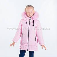 """Зимняя куртка для девочки """"Лана """",Зима 2018, фото 1"""