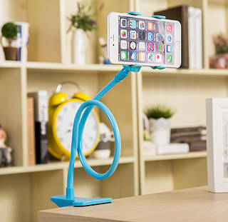 Многофункциональный гибкий держатель с прищепкой для телефонов