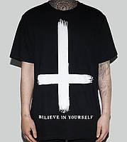 Футболка Перевернутый Крест | Верь в себя | Все размеры