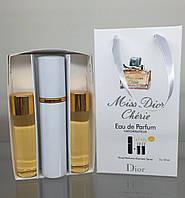 Мини парфюм  Miss Dior Charie с феромонами + 2 запаски, 3*15 мл.