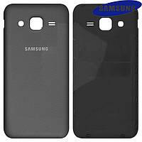 Задняя крышка батареи для Samsung Galaxy J2 J200, черная, оригинал