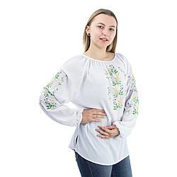 Цветочный орнамент на шифоновых блузах