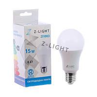 Светодиодная лампа Z-light ZL1003 15W E27 4000K (Белый свет)